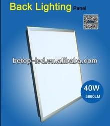MOSO external LED driver CE ROHS 40w back lighting LED panel light,4000lm