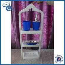 PP Plastic Bathroom Shelving Bathroom Accessories
