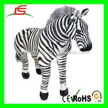 D889 NEW Giant Plush Zebra Stuffed Animal