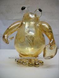 Hand Blown Glass Fish Figurine