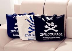 Cool design boys girls shoulder bag fashion bag felt tote bag