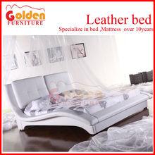 exclusive purple leather bedroom full set B2813#