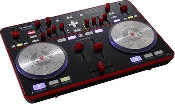 Typhoon DJ MIDI controller with sound card