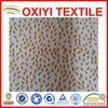 Knitted 100% polyester brush velboa for garments