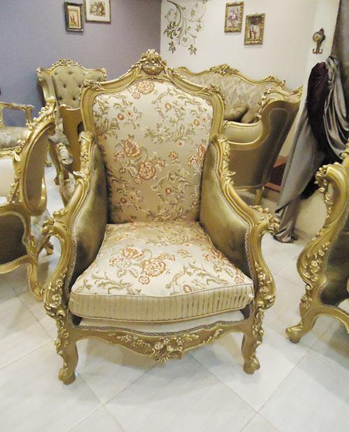 Estilo europeu antique louis xv sofa set home antigo for Salon egyptien