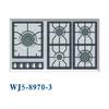 5 burner gas cooker big pan support large space for Middle East market WJ5-8970-3