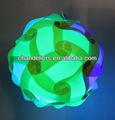 Color de la mezcla( verde amd azul) puzzles/rompecabezas iq de la lámpara