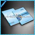 catálogo de arte de impresión para la publicidad con bajo costo