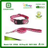 fashion design dog collar and leash made from factory hot sale