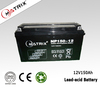 AGM SLA Solar Battery 12V 150AH for solar and wind power system