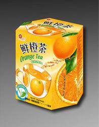 Japanese Cherry Blossom Orange Black Tea orange mint tea orange peoke tea big orange bubble tea