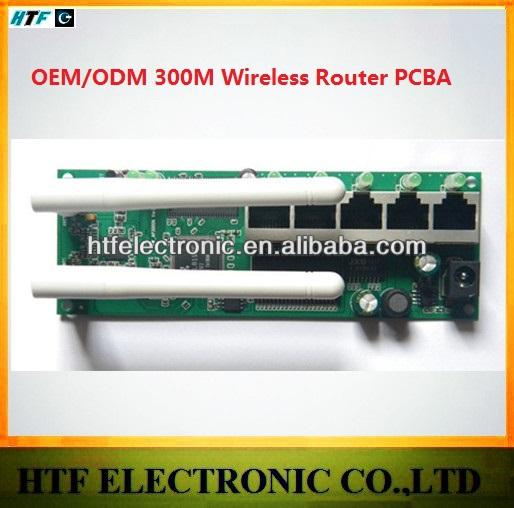 customized OEM/ODM 300M desktop 1P Wan+4p LAN 802.11b/g/n Two External antenna 2.4G network security wifi lte Router module