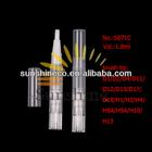 Sunshine-S071C, 1.8ml cosmetic twisting pen (empty pen),lip gloss pen