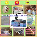 Caliente venta SYSJ80 156 del panel del pvc que hace extrusora