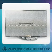 Guang dong manufacturing gold / silver metallic card
