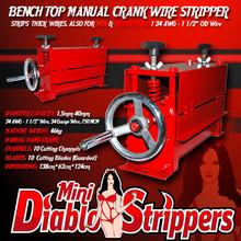 Diablo Mini Manual Wire Stripper Machine