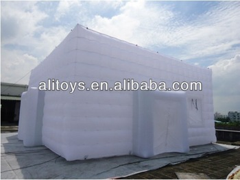 Lilytoys&Alitoys inflatable cube tent will display on Turkey 12.15-12.18