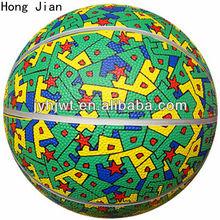 jiangyin entertainment rubber basketball size 6