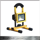 5W 450 lumen battery powered portable and outdoor LED flood light