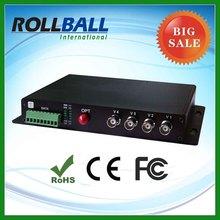 high quality 4 channel fiber optic audio converter