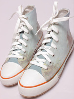 High top canvas shoes woman China manufacture 2013-2014