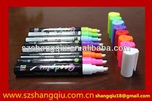 cheap and high quantity goodplus liquid chalk pen,window marker pen ,eraseable liquid chalk pen FM450 with 6mm nib