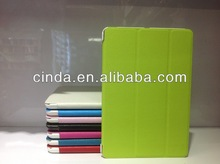 Cross pattern Fold wallet Leather Case Cover For Apple ipad mini 2 with stand