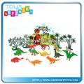 Dibujos animados de los animales de granja, de plástico de juguete de los animales
