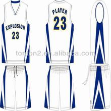 basketball jersey uniform basketball reversible shirts mesh fabric basketball jersey