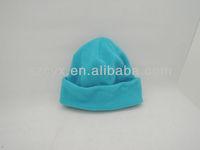 fashion warm windproof polar fleece winter beanie hat for kids