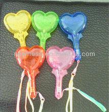 LED Heart maracas