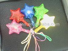 LED Star maracas