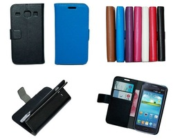 Wallet case for samsung galaxy core i8260 i8262