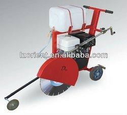 Portable concrete road saw