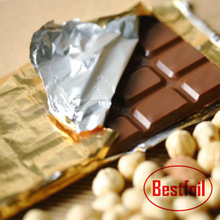 Butter and chocolate packaging aluminum foil wraps