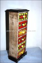 5-ceramic Drawers Mini Cabinet