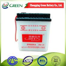 6v Motorbike battery for korean motorcycle parts