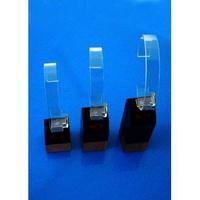 Fashion clear acrylic watch display,acrylic slatwall sunglass display