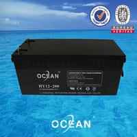 2014 high quality 12v sla apc battery professional Payment O/A 12V 200AH ups lead acid battery