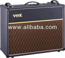 Custom AC30C2X 30W 2x12 Tube Guitar Combo Amp Black