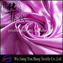 95% polyester 5% spandex dyed satin fabric/satin fabric/printed satin fabric