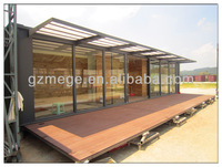 prefab movable modified container house by the sea