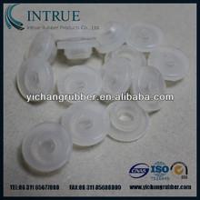 Custom molded silicone rubber seals