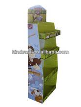 corrugated/cardboard paper floor display for retail