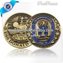 3D Metal Coin Medallion