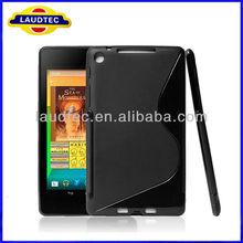 Deluxe Gel S-Wave TPU Case Cover Skin For Google Nexus 7 II 2013 Tablet
