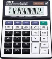 112 steps check&correct small purple scientific calculator CT-912N