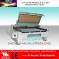 Láser cnc vestimentas/tela máquina de corte precio