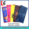 2013 stylish plastic pvc school pencil bag with zipper