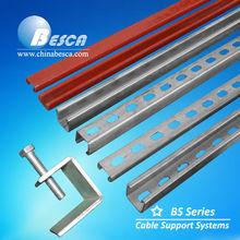 Metal Bracket For Building Soporte Riel Acanalado UL,cUL,SGS,ISO,CE